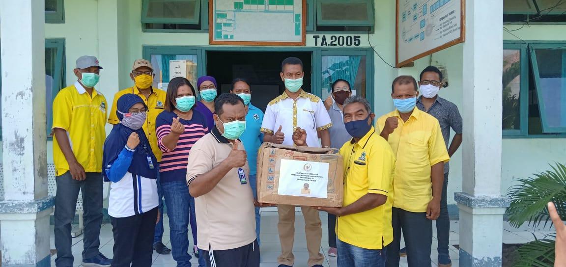 Ketua DPRD Lembata, Ajak Masyarakat Taati Protokol Kesehatan