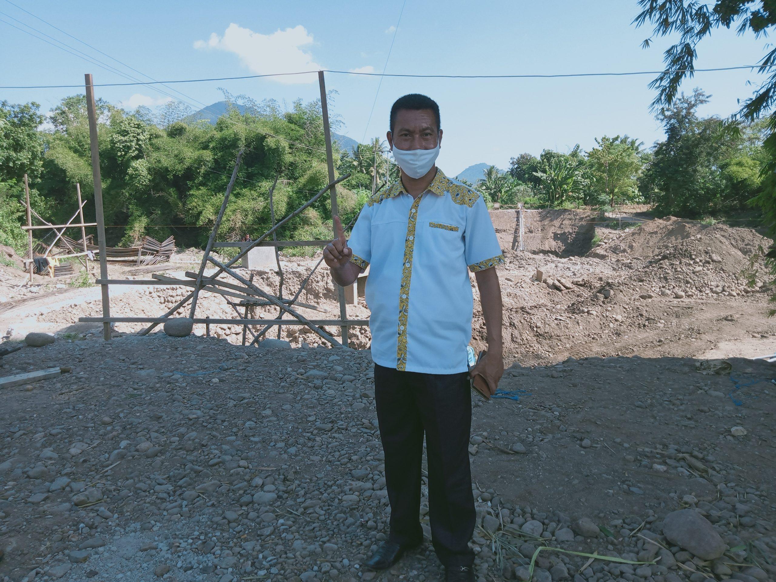 Petrus Gero Ketua DPRD Lembata, Siap Jadi Orang Pertama Disuntik Vaksin Anti Virus Covid 19 Di Lembata