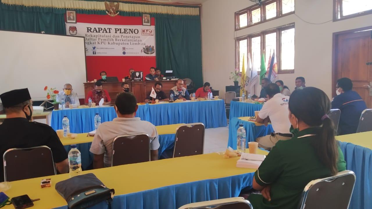 Update Data Pemilih, KPU Lembata upaya Menjamin Hak Pilih Warga