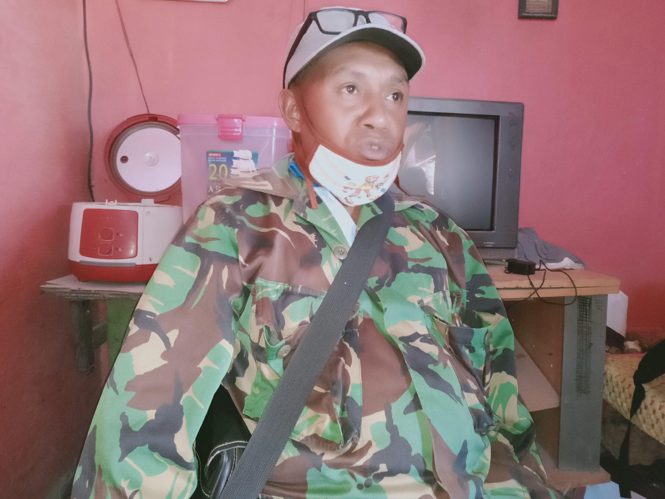 Budidaya Pala Trobosan Yosep Blida, Penjabat Kepala Desa Doripewut.