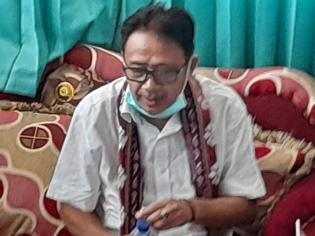"""Bernostalgia Ke SMAN 468 Larantuka, Bupati Sunur ; """"Saya Pernah Jadi Pelatih Drama Dimasa  SMA"""""""