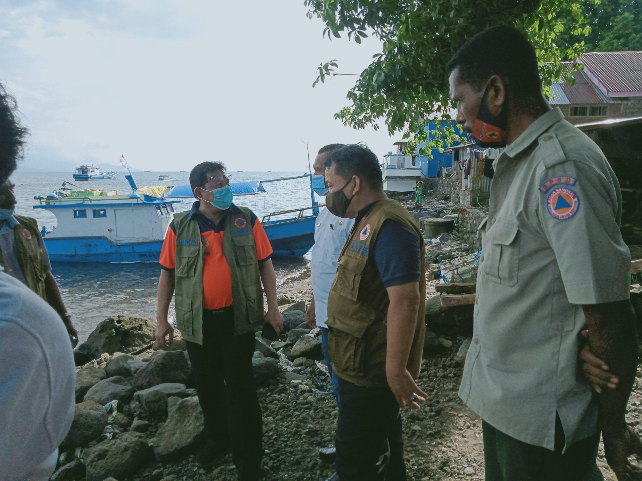 Pemerintah Pusat Kucurkan 15.4 Miliar Bangun Talud Pengaman Pantai Di Flotim