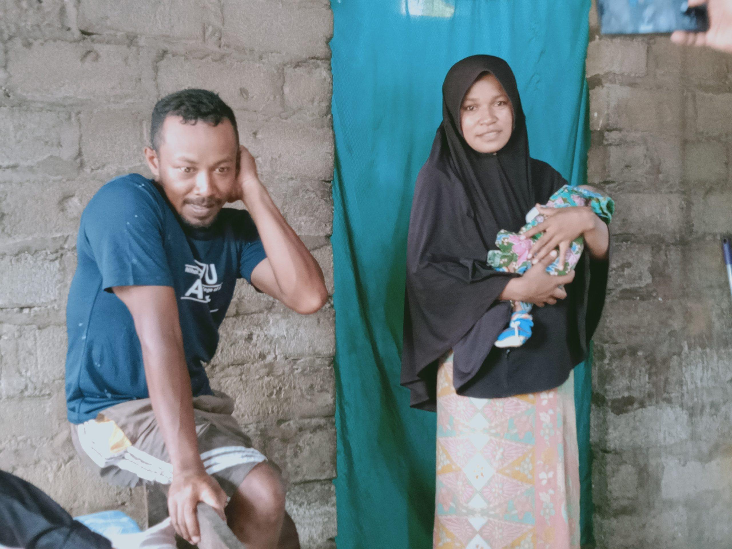 Sempat Dikucilkan Akibat Covid 19, Farida Lipat Lahirkan Bayi Perempuan Dengan Selamat
