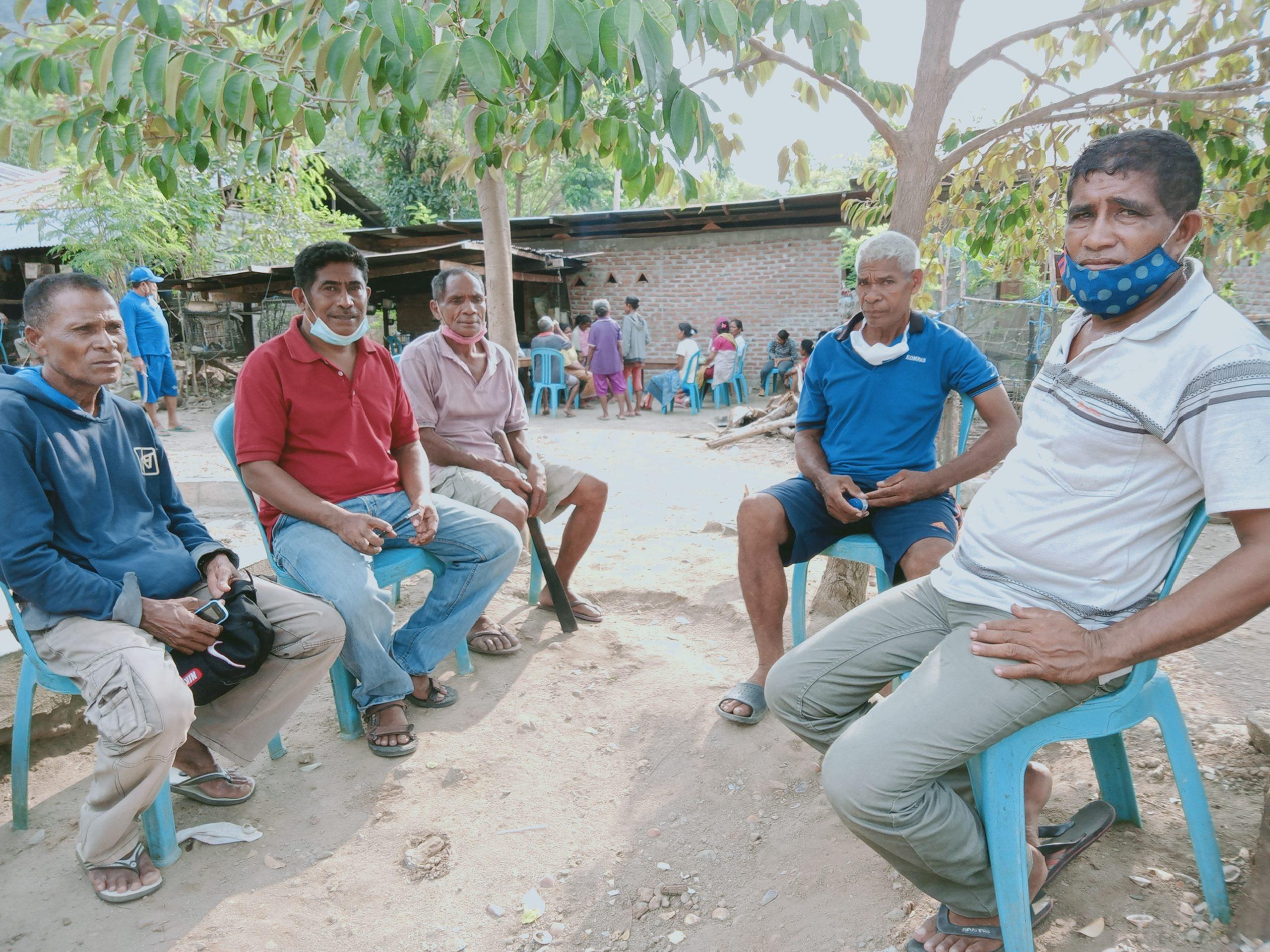 Setelah Hilang 28 Jam, 5 Bocah Desa Waienga, Lembata Yang Hilang Akibat Letusan Gunung Ile Lewotolok Di Temukan.