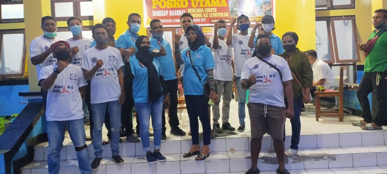 Permudah Distribusi Bantuan Warga Terdampak Erupsi Ile Lewotolok, Partai Demokrat Lembata Jalan Dari Rumah Ke Rumah