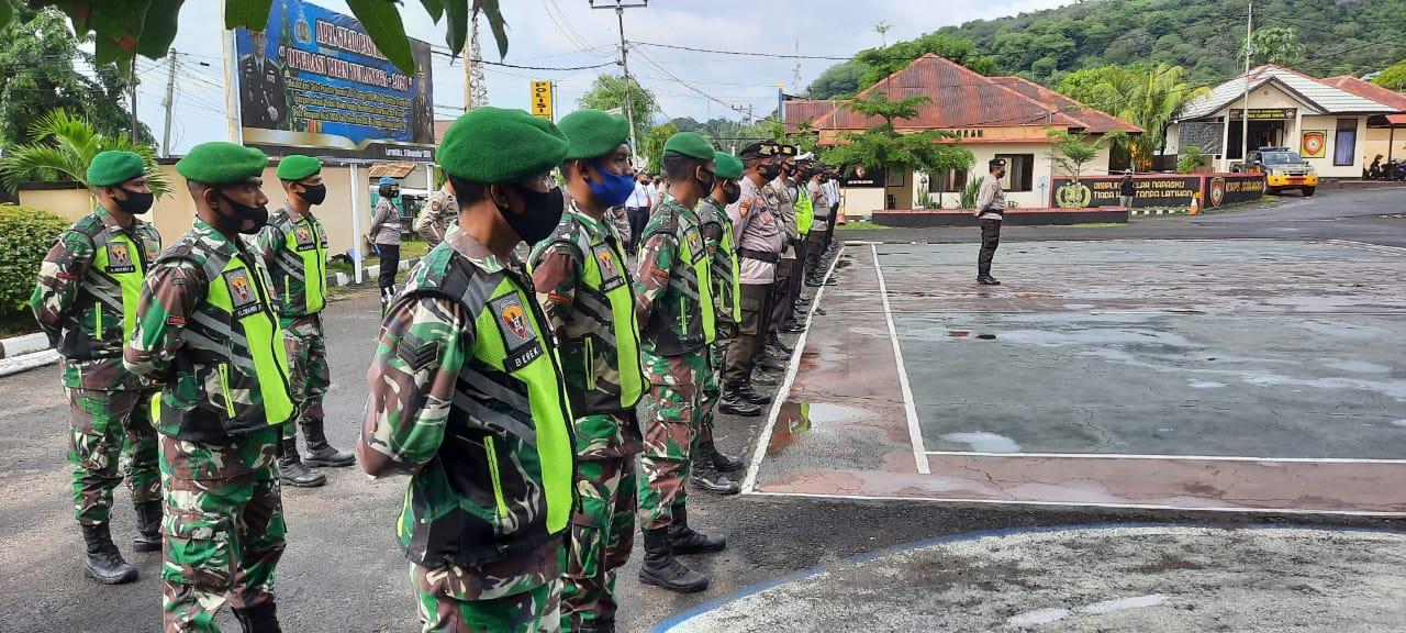 Bupati Hadjon Pimpin Apel Gelar Pasukan Dalam Rangka OPS Lilin Turangga 2020