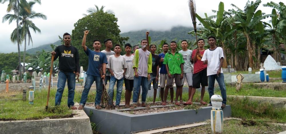 Komunitas Lorong Pengetahuan Desa Holea, Lakukan Baksos Sambut Natal Dan Tahun Baru 2021