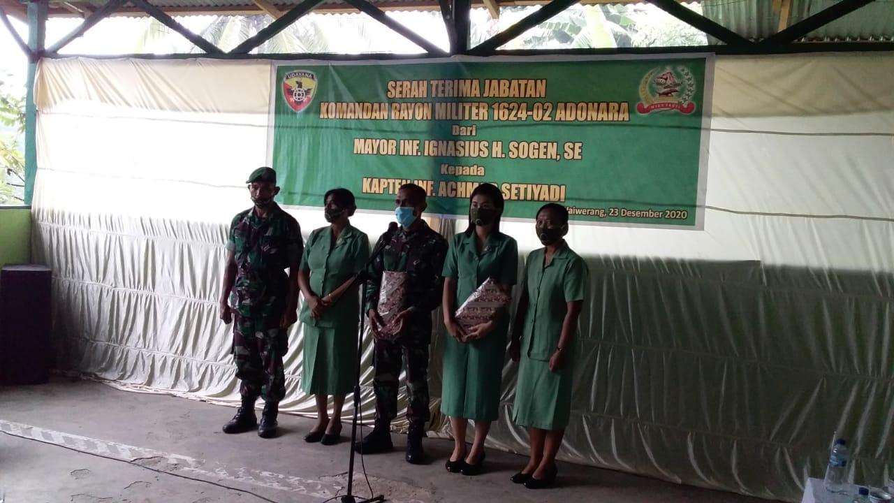 Kapten Inf. Achmad Setiadi, Jabat Komandan Rayon Militer 1624-02 Adonara