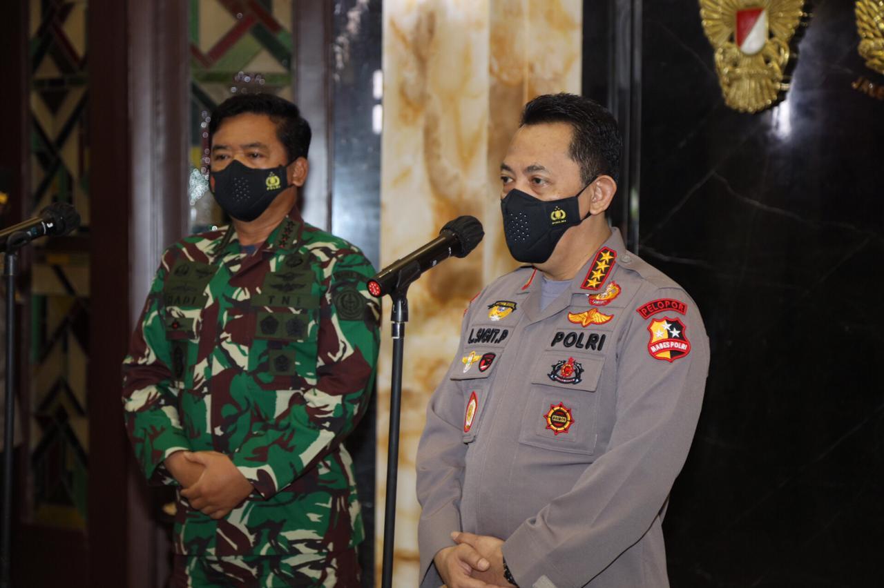 Membangun Soliditas Dan Sinergitas, Kapolri Silaturahim Ke Panglima TNI