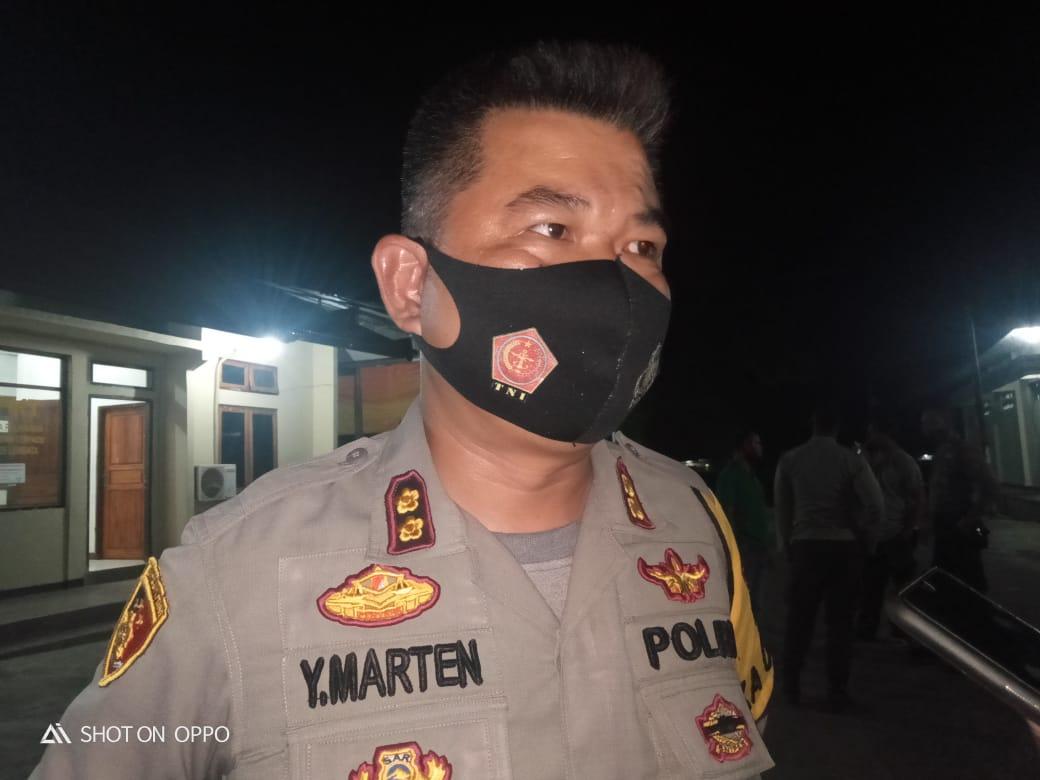 Polres Lembata, Siaga Amankan Perayaan Paskah Di Kabupaten Lembata.